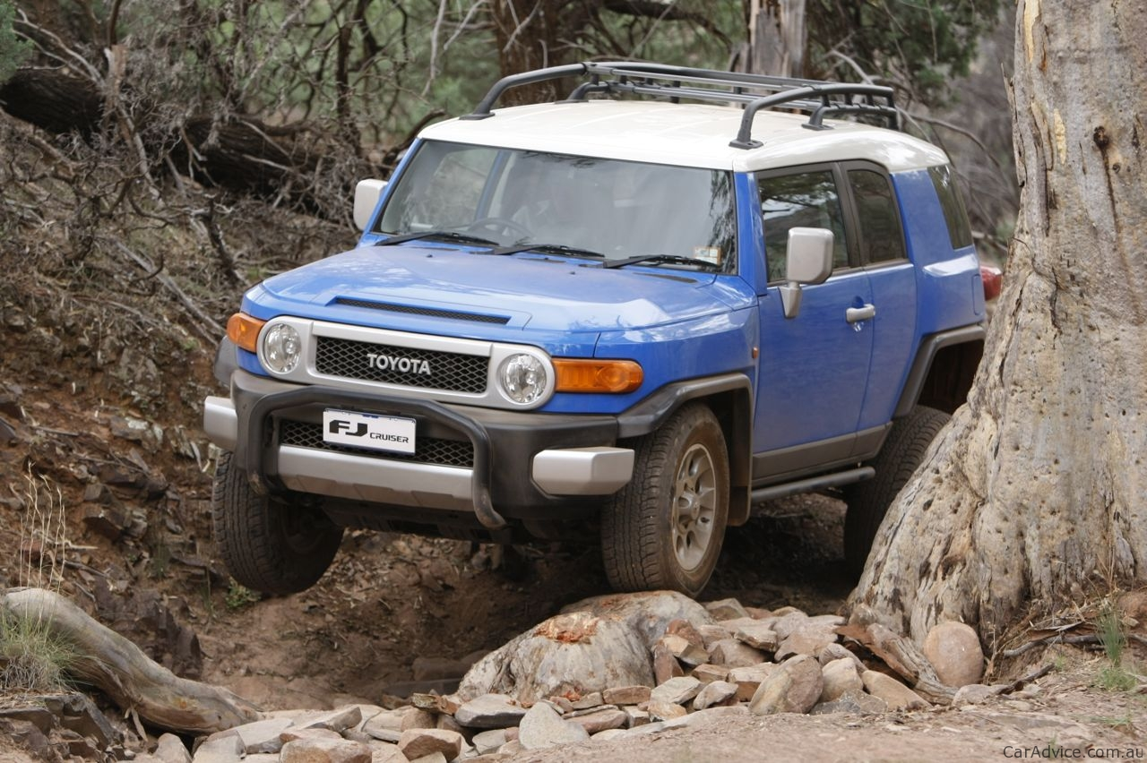 Toyota Fj Cruiser Review Off Road Caradvice
