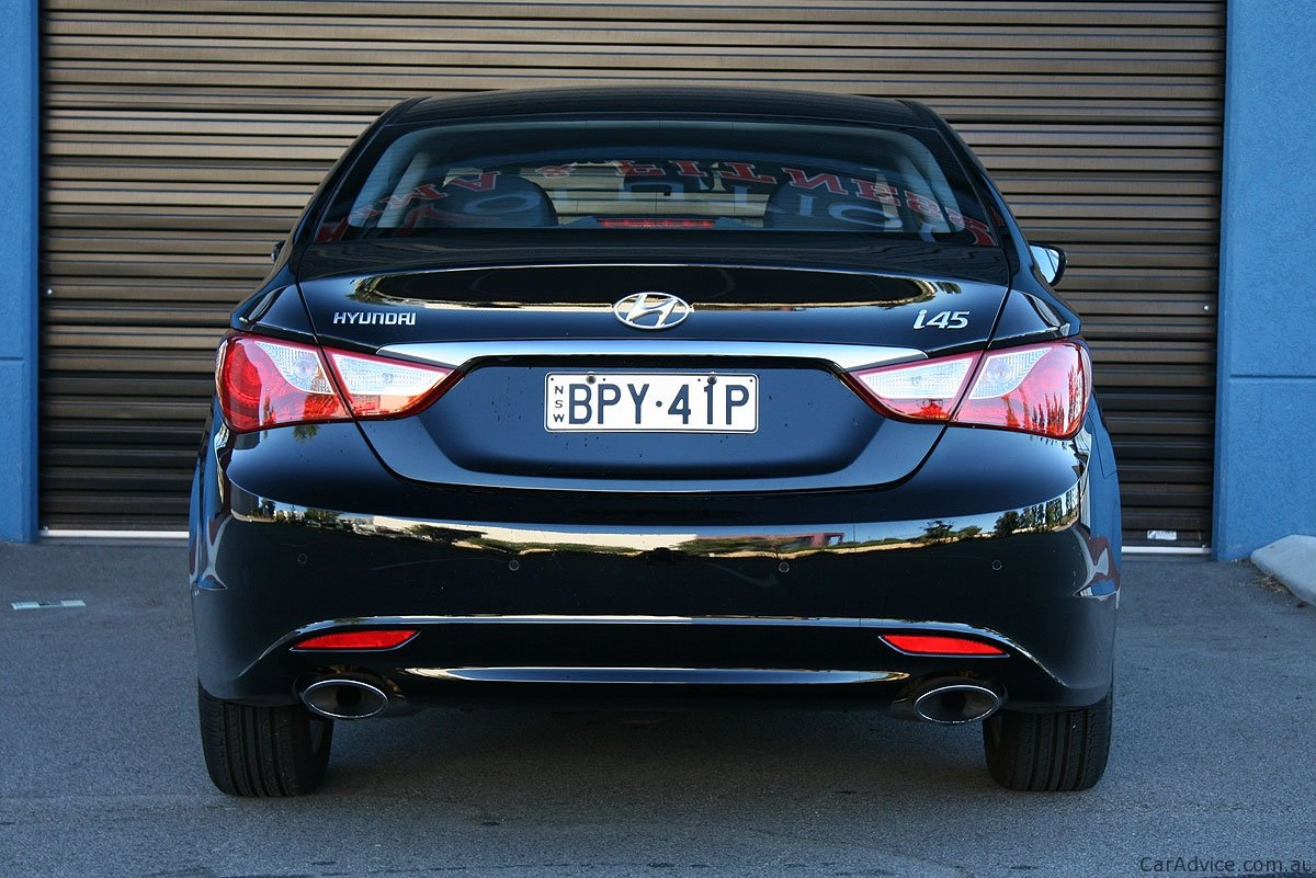2011 Hyundai I45 Review Photos Caradvice