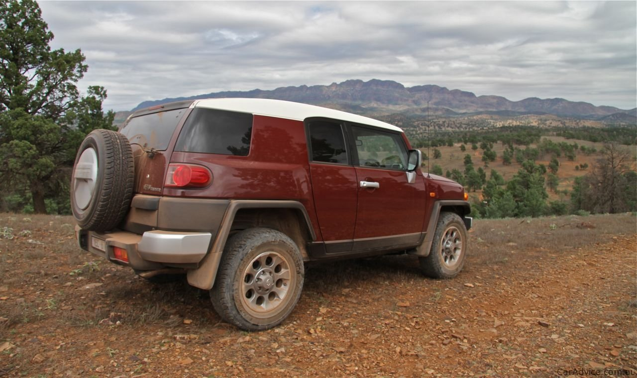 Toyota Fj Cruiser Review Off Road Photos Caradvice