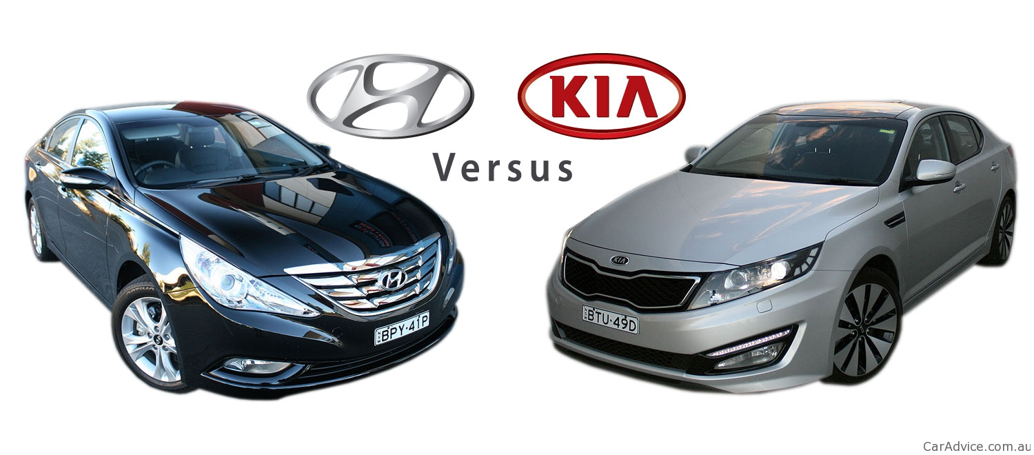 Hyundai I45 Vs Kia Optima Comparison Review Photos