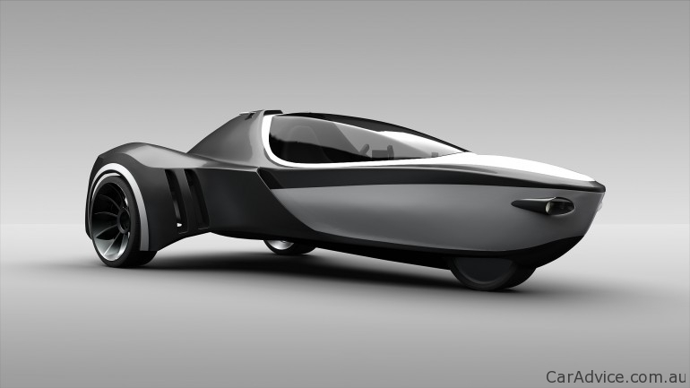 Manta Amphibious Three Wheeler Concept Photos 1 Of 5