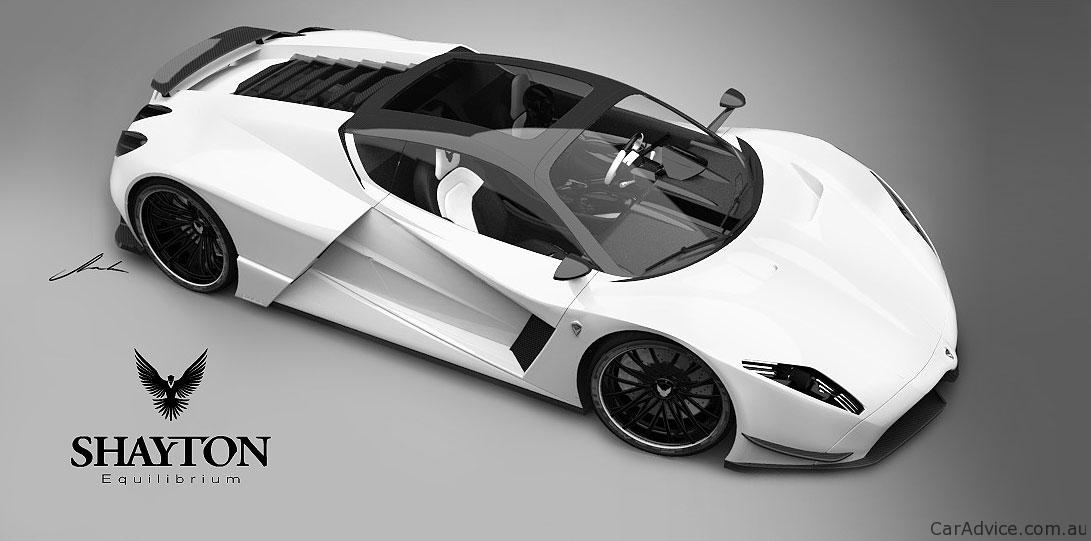 Shayton Equilibrium - a new supercar on the block - photos   CarAdvice