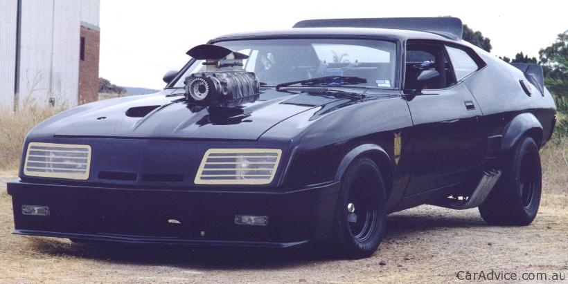 ford australia mad max  interceptor concepts