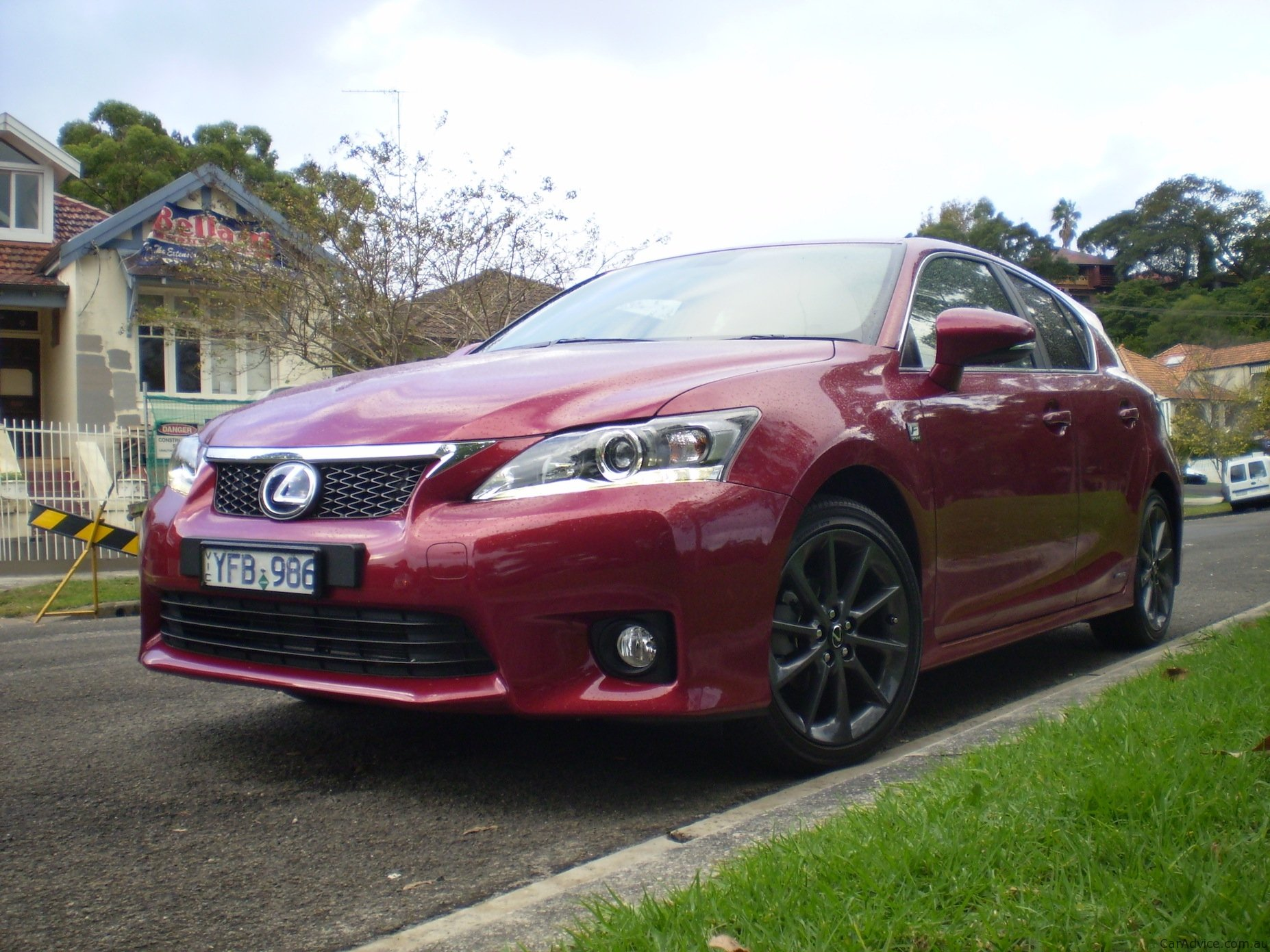 lexus ct 200h f sport review photos caradvice. Black Bedroom Furniture Sets. Home Design Ideas
