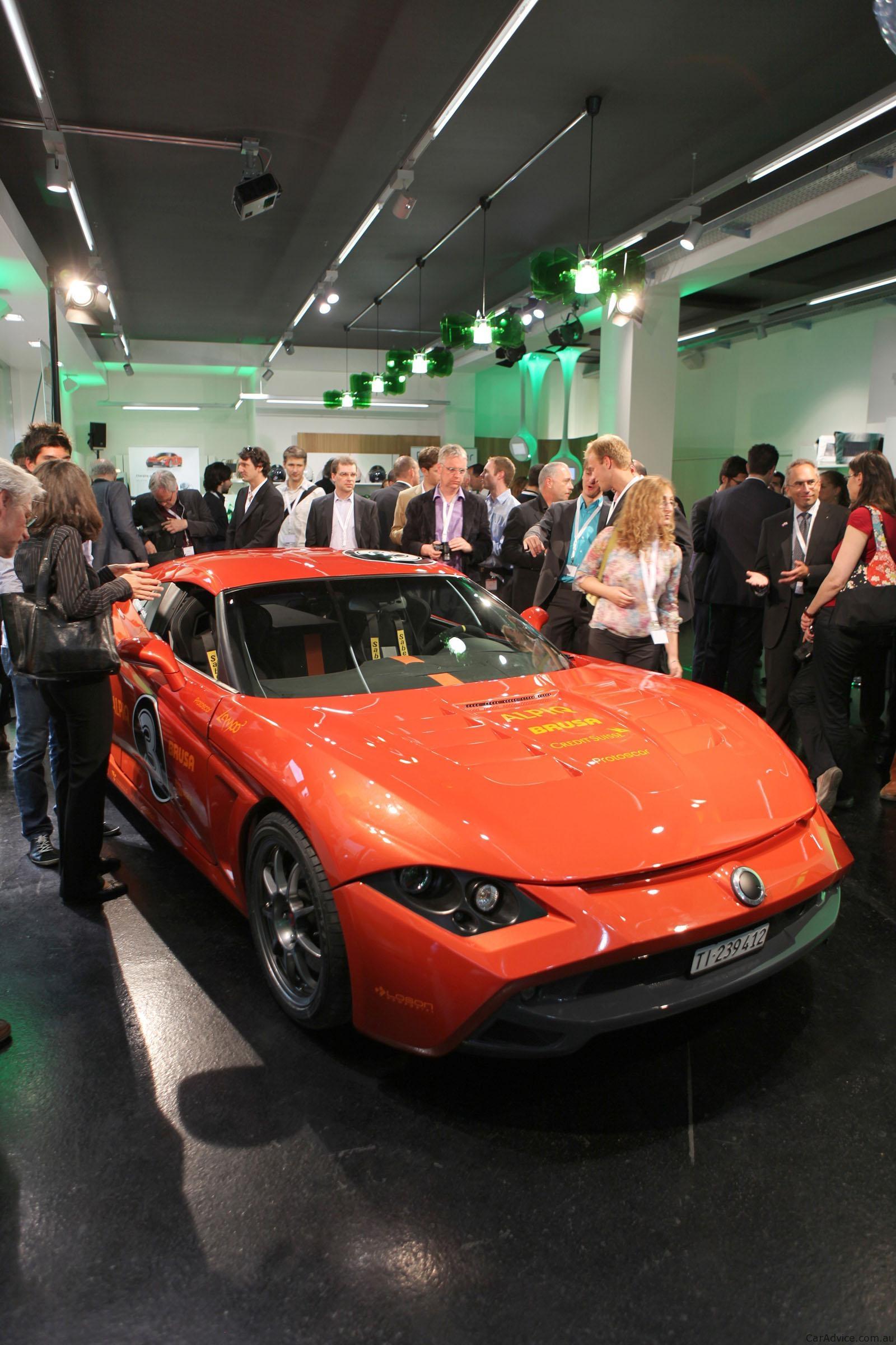 Protoscar Lampo3 Electric Sports Car Unveiled Photos