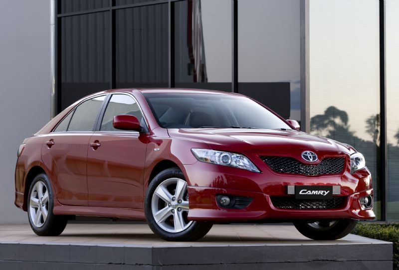 Toyota Camry Manual Transmission Dropped In Australia