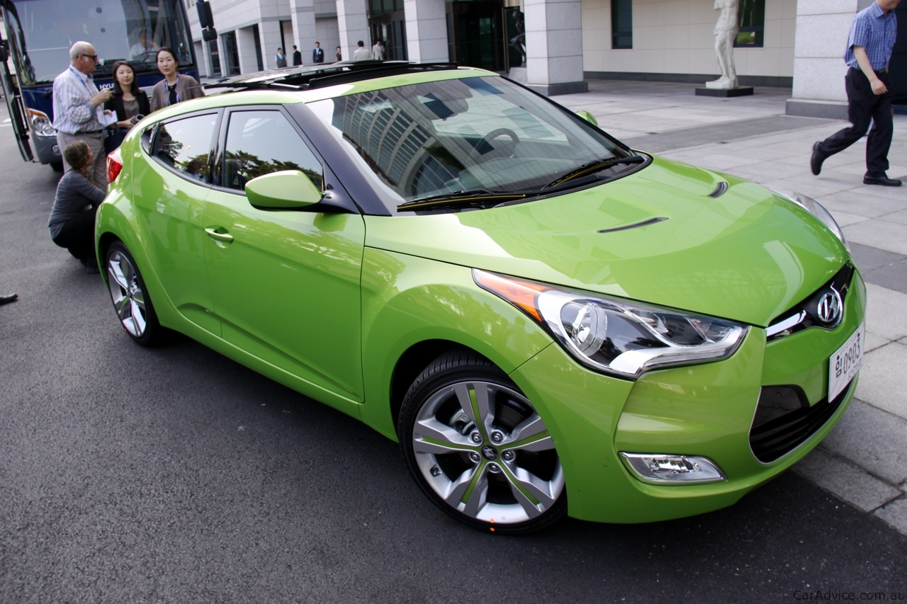 Hyundai Veloster Review First Drive Photos Caradvice