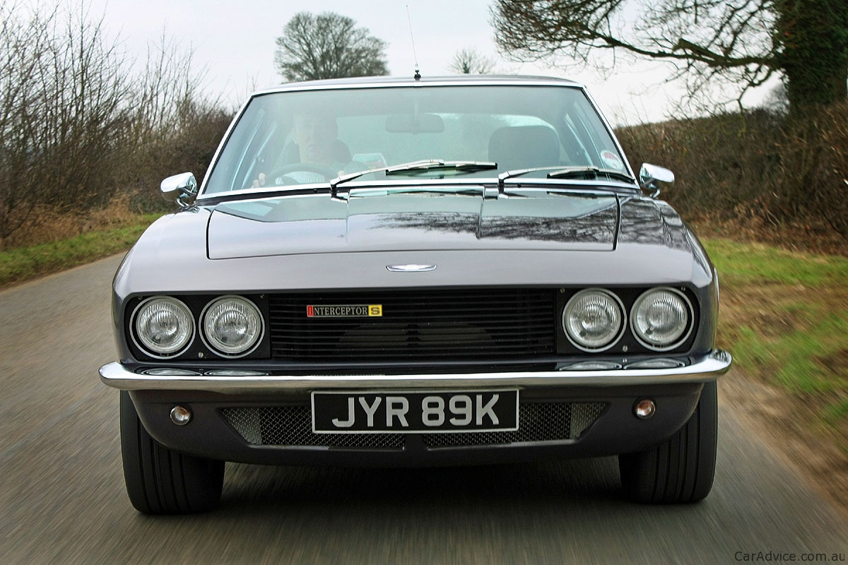 Jensen Interceptor R to be launched at Salon Privé - Photos (1 of 2)