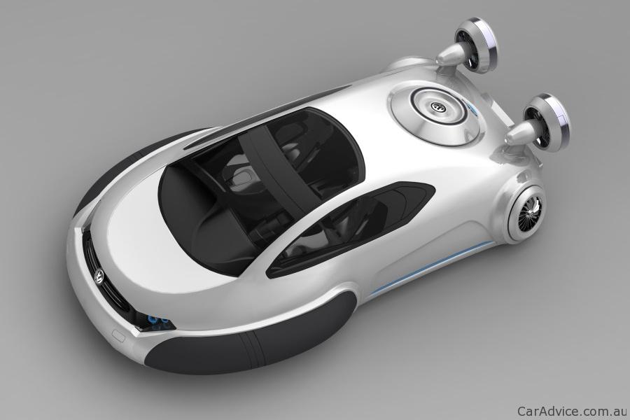 Volkswagen Aqua Concept Hovercraft By Zhang Yuhan Photos