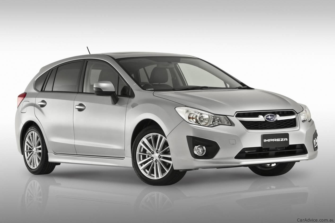 Cars Under $10000 >> 2012 Subaru Impreza at Australian International Motor Show ...