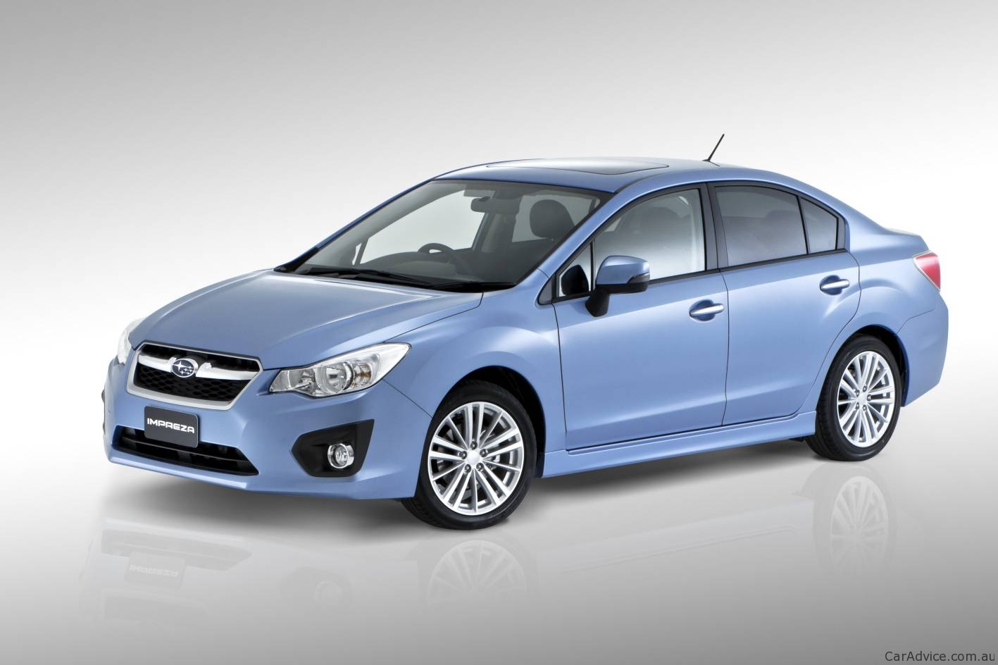 2012 Subaru Impreza At Australian International Motor Show