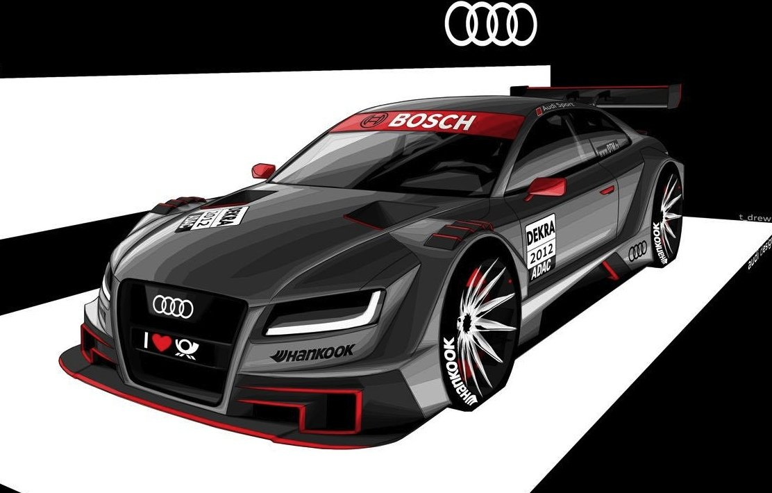 Bmw Dtm M3 Concept Car And Audi A5 Dtm Render Unveiled