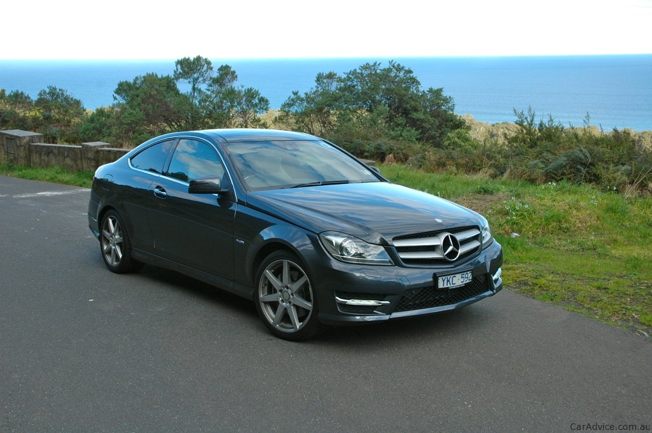 mercedes benz c class coupe review photos caradvice. Black Bedroom Furniture Sets. Home Design Ideas
