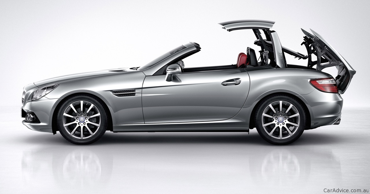 Mercedes Benz Slk 200 Amp 350 Review Photos Caradvice