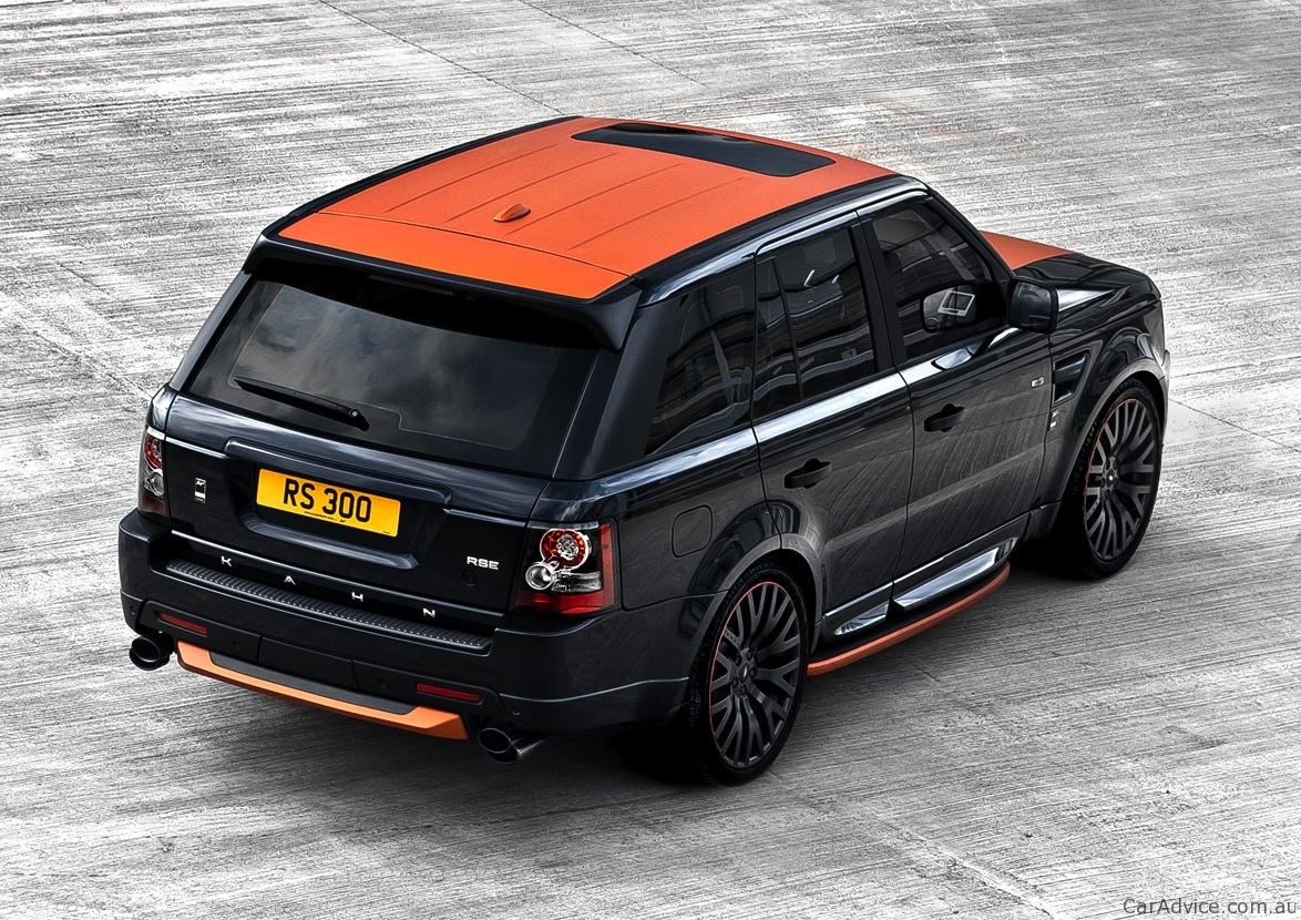 2012 Range Rover Vesuvius Edition Sport 300 By Project Kahn Photos Caradvice