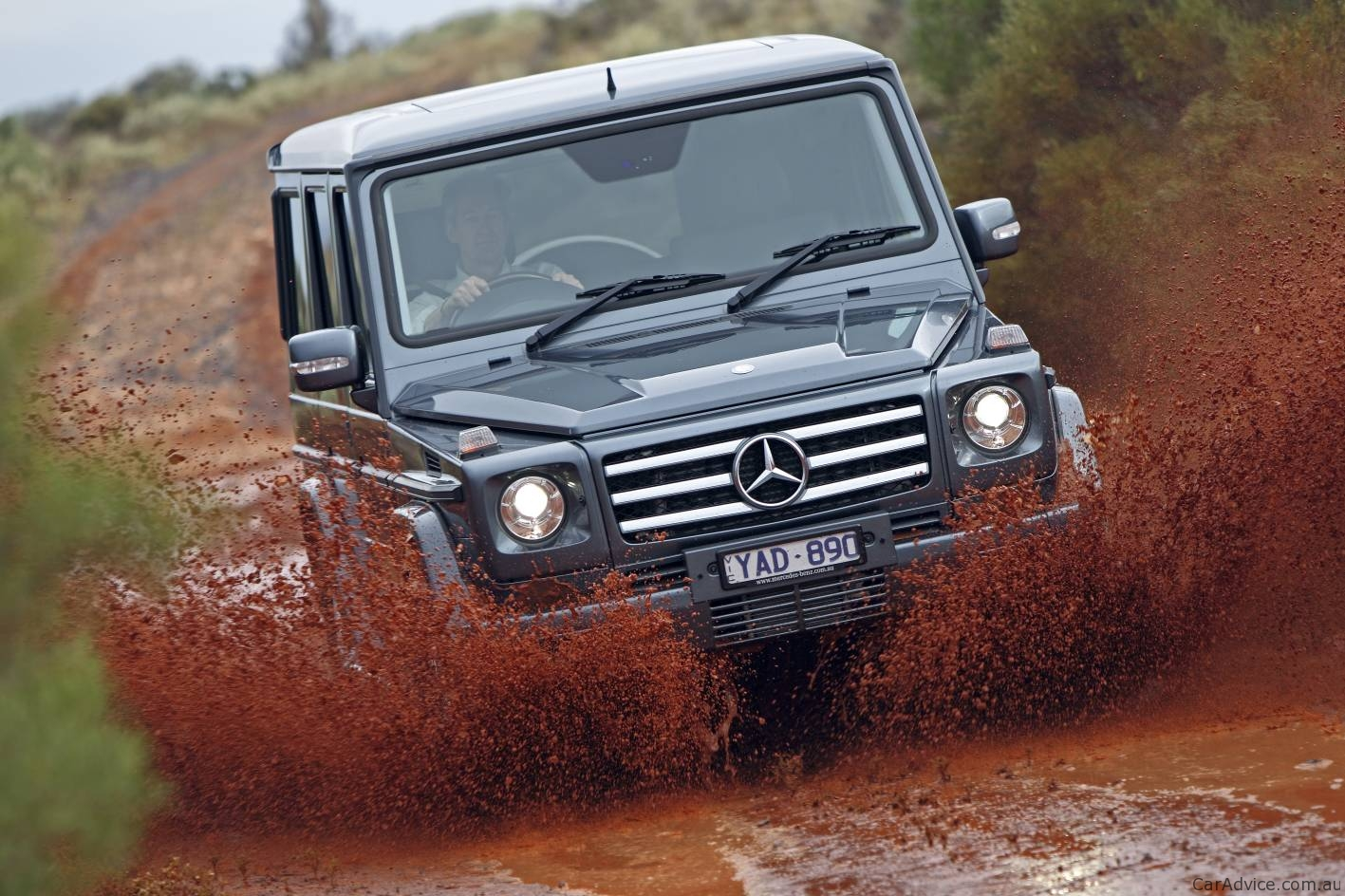 Mercedes Benz G Class Broken By The Australian Outback