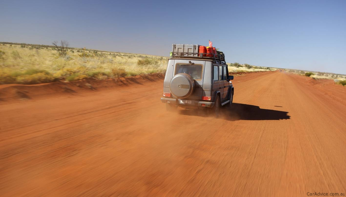 Mercedes-Benz G-Class broken by the Australian Outback ...