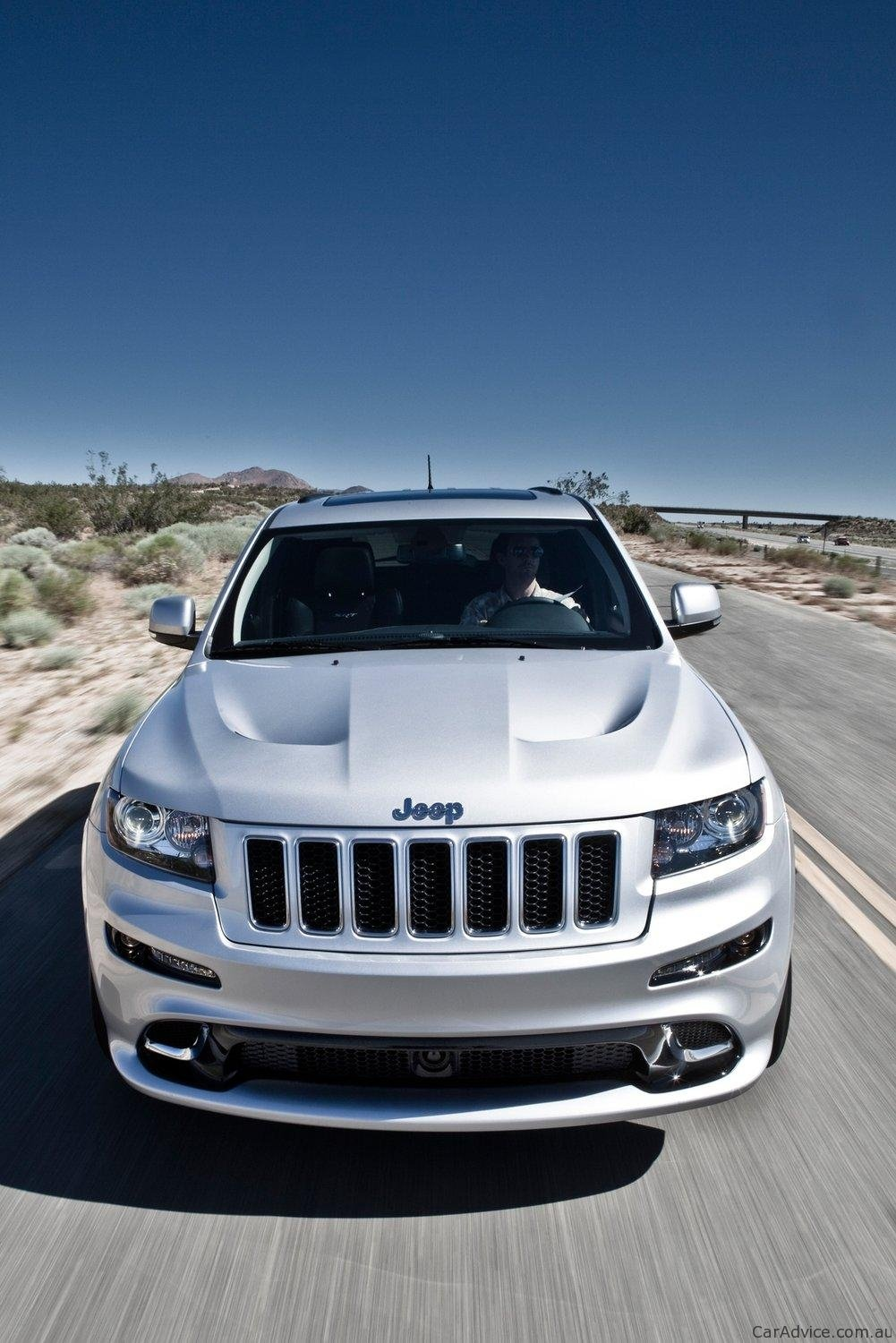 2012 jeep grand cherokee srt8 on sale in australia in january photos caradvice. Black Bedroom Furniture Sets. Home Design Ideas