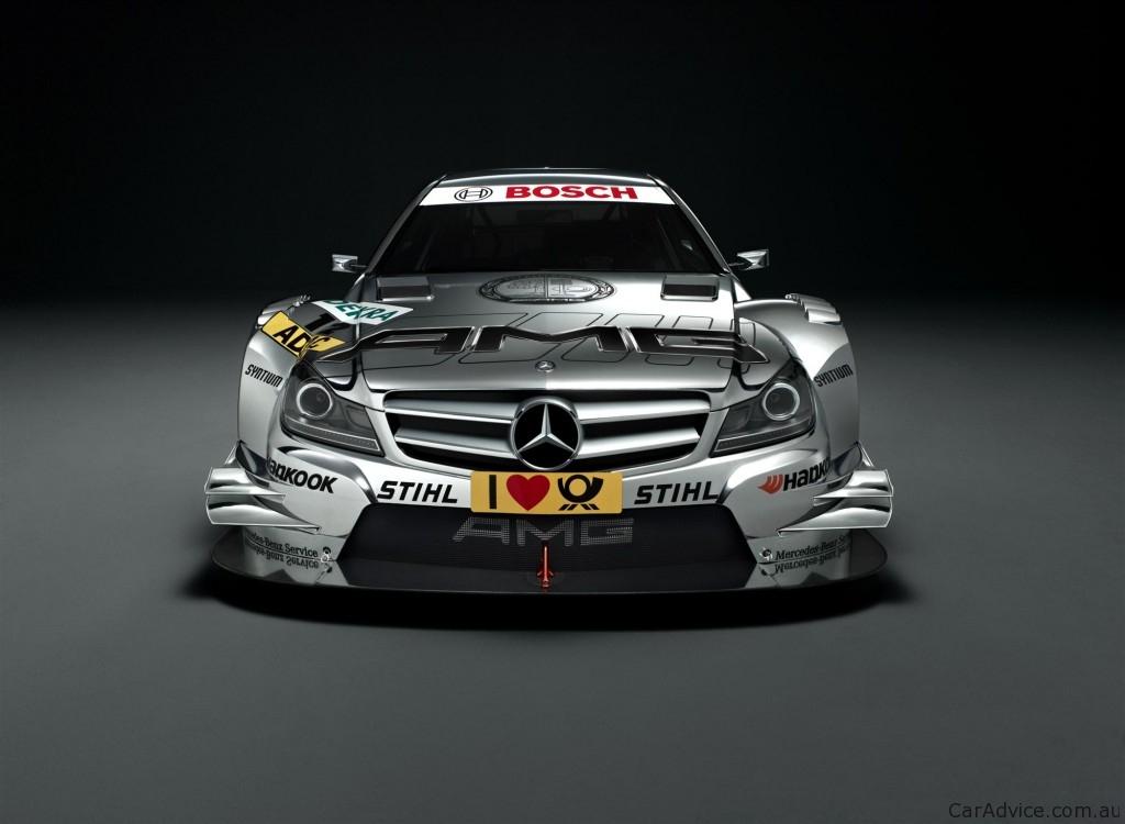 2012 Mercedes Benz C Class Coupe Dtm Race Car At Frankfurt Motor Show Photos Caradvice