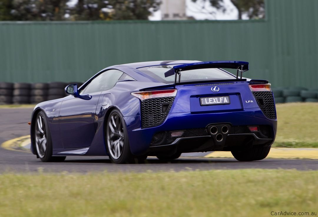 Lexus Lfa Review Caradvice
