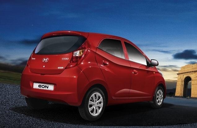 Santa Fe Suv >> Hyundai Eon sub-compact car debuts in India - photos ...