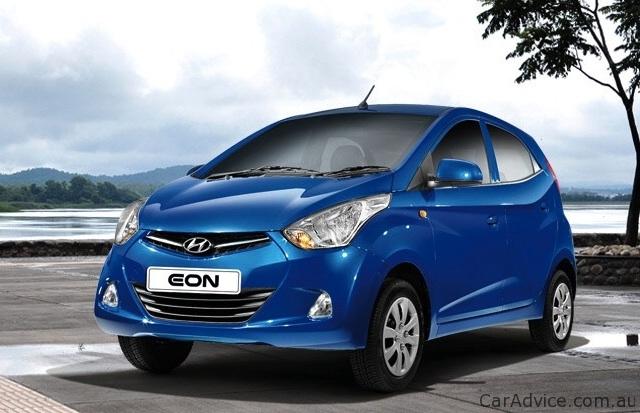 Hyundai Eon Sub Compact Car Debuts In India Photos