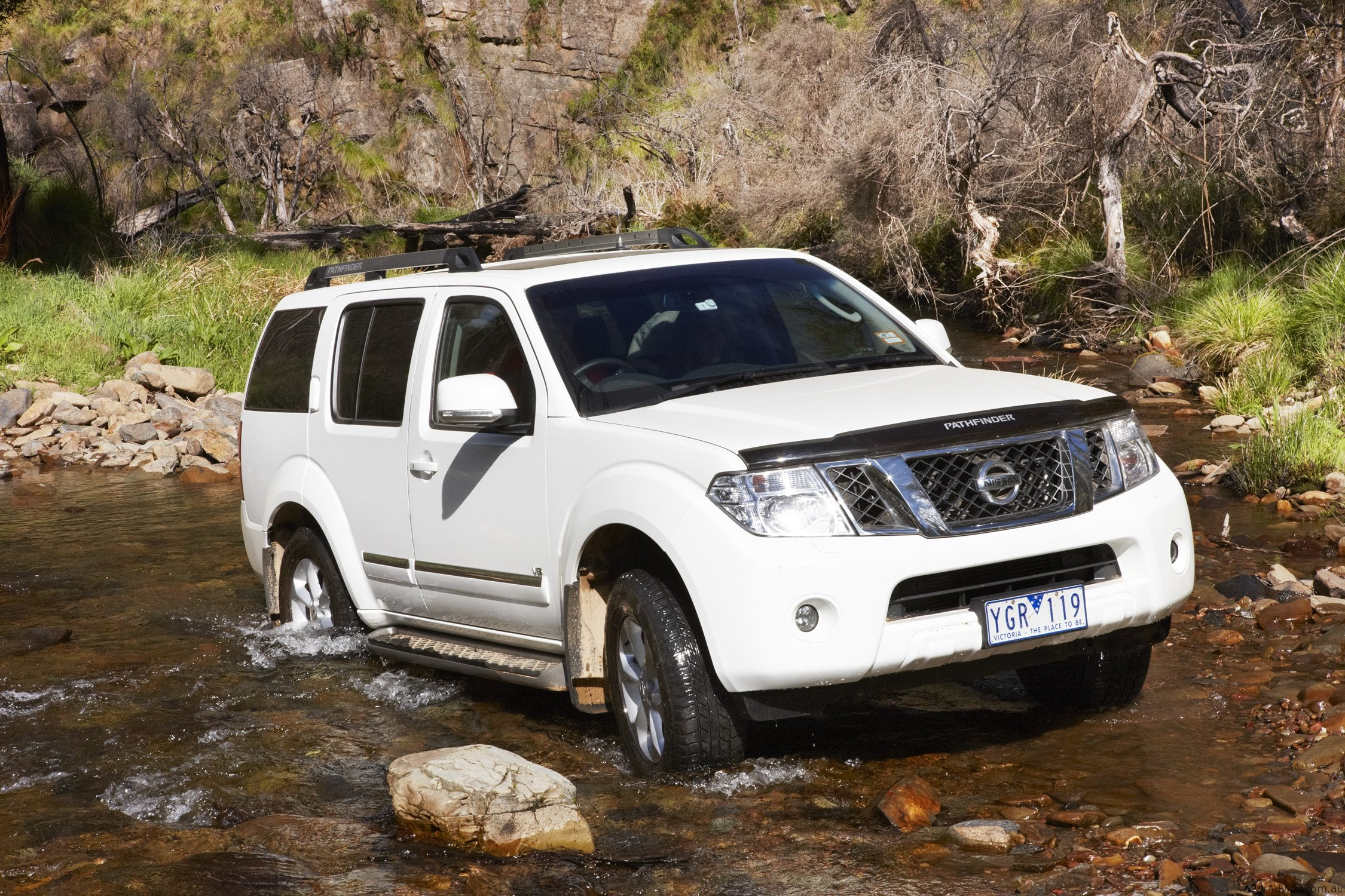 Nissan X Trail Amp Pathfinder Off Road Review Photos Caradvice
