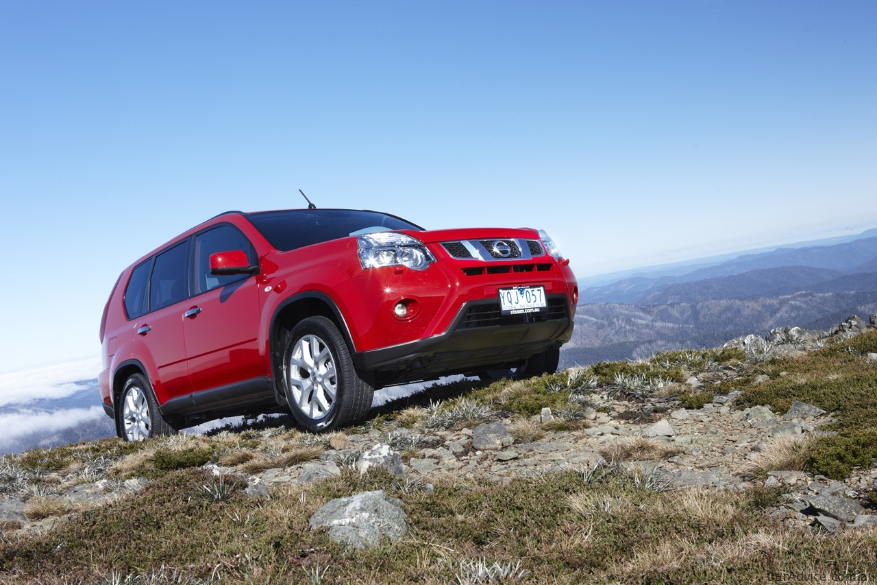 Nissan X-Trail & Pathfinder Off-road Review - photos ...