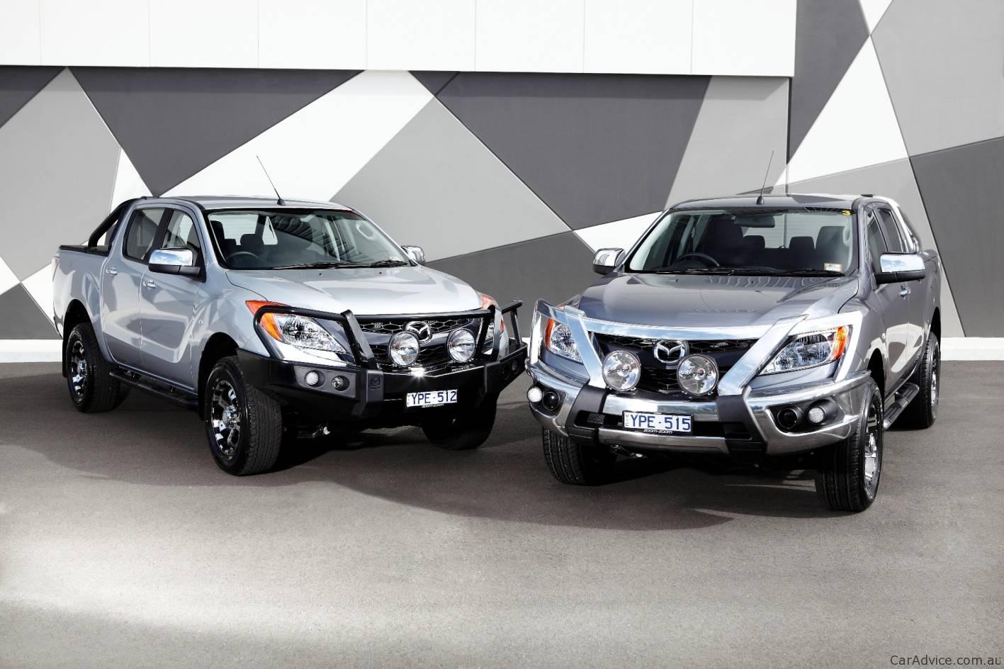 All New Mazda Bt 50 2019 >> Mazda BT-50 prices revealed for Australia - photos | CarAdvice