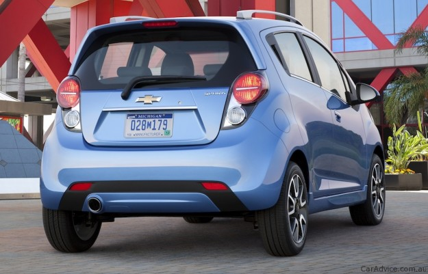 2013 Chevrolet Spark Revealed Holden Barina Spark Timing