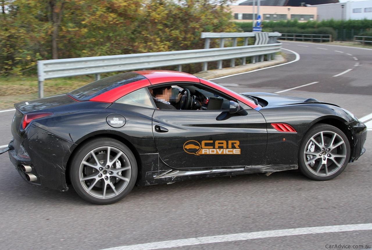 Ferrari California 'GTO' Turbo Spy Shots - Photos