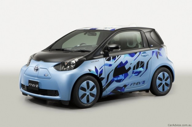 Toyota Fun Vii Fcv R Ft Ev Iii Concepts Headed For 2011