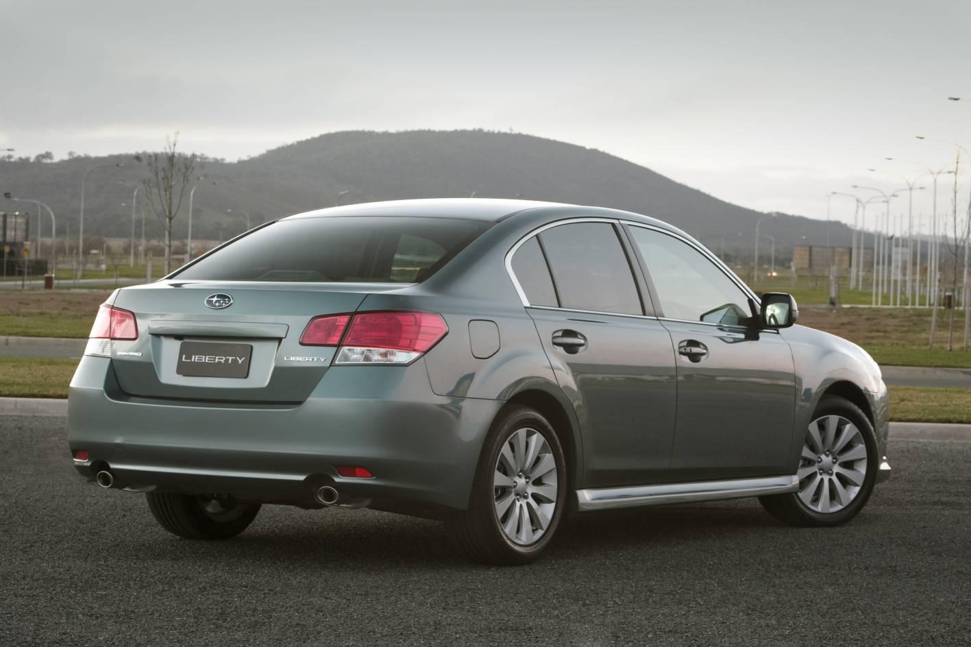 2012 Subaru Liberty Gets Standard Reversing Camera  Full