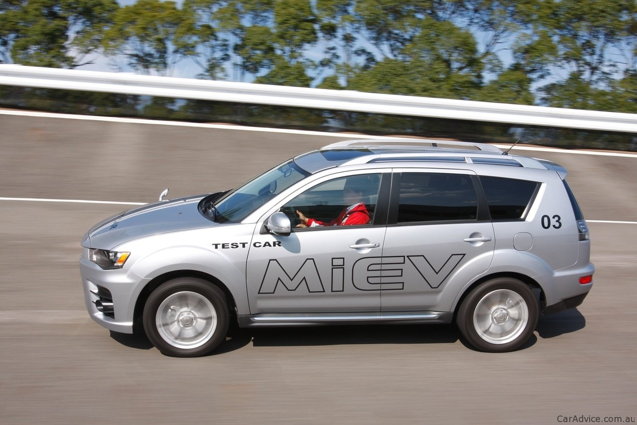 Mitsubishi Px Miev Review Outlander Preview Photos Caradvice