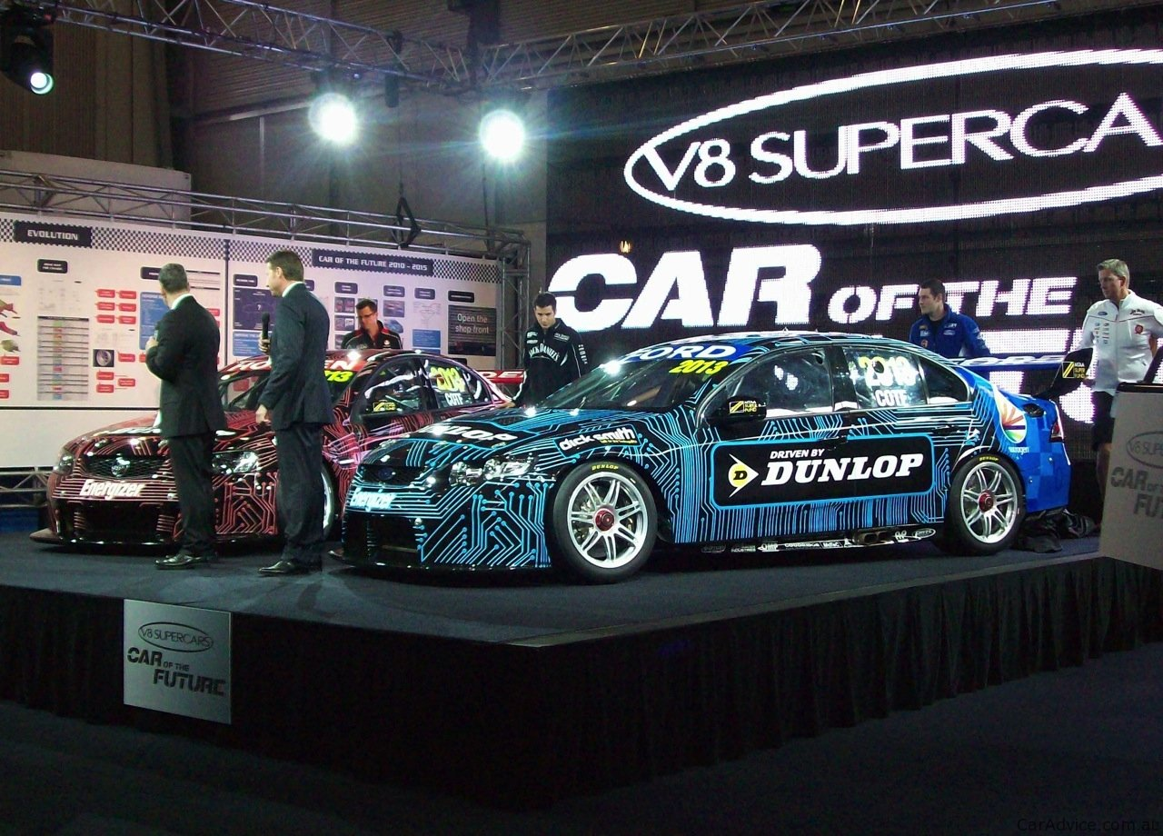 V8 Supercars Car Of The Future At Sydney Telstra 500