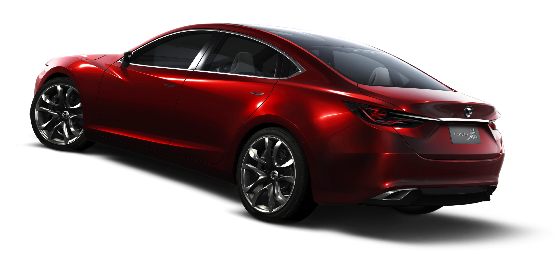Mazda6 four door coupe to rival Passat CC photos