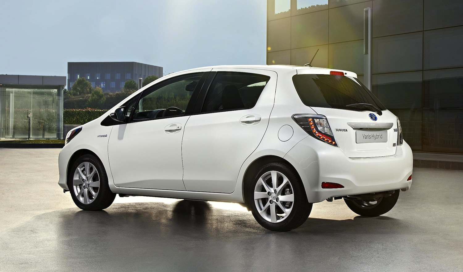 Toyota Yaris Hybrid Unlikely For Australia Photos