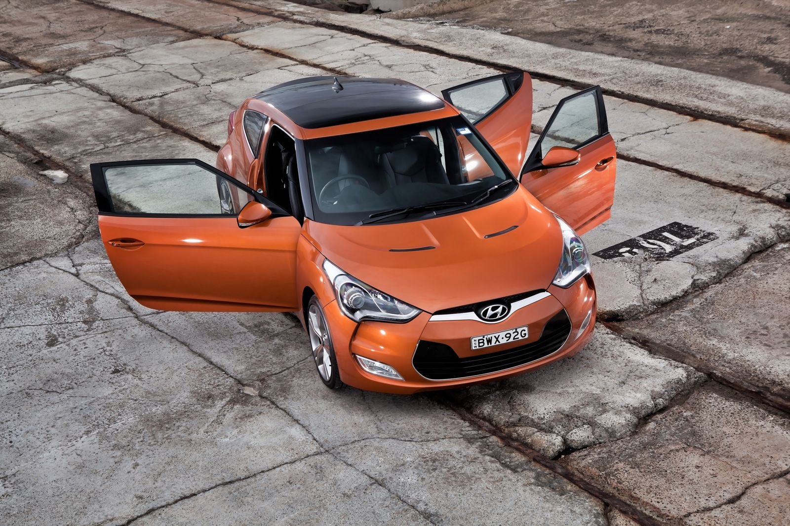 Luxury Sports Cars >> Hyundai Veloster Review - photos | CarAdvice