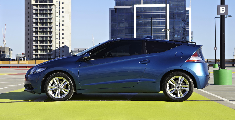 Honda CR Z Review Luxury spec photos
