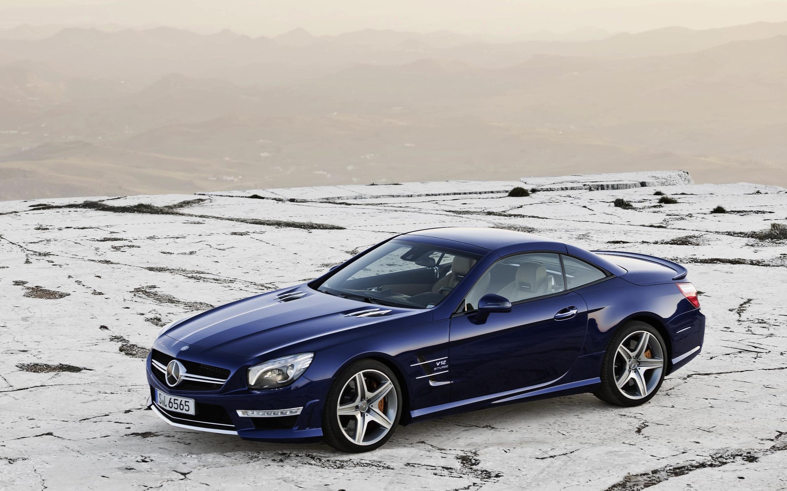 Mercedes benz sl65 amg lighter faster v12 roadster for Mercedes benz lighter