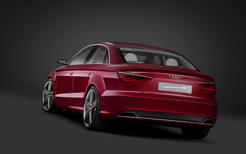 Audi A3 Sedan Confirmed Photos 1 Of 3