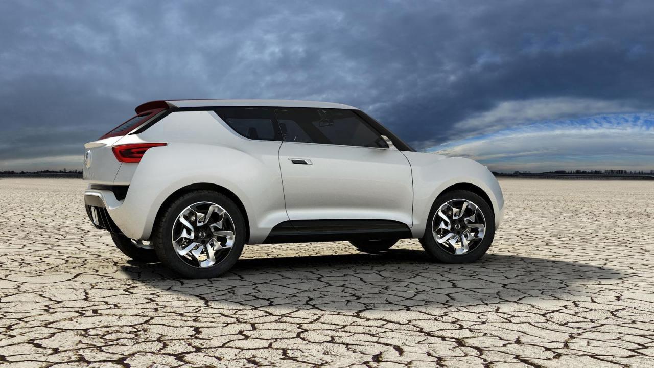 Concept 2 Model D >> SsangYong XIV-2 concept previews new SUV family - photos | CarAdvice