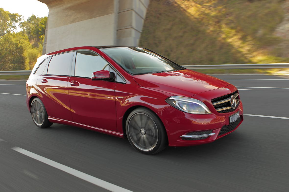 Mercedes benz b class review photos caradvice for Mercedes benz b class specifications