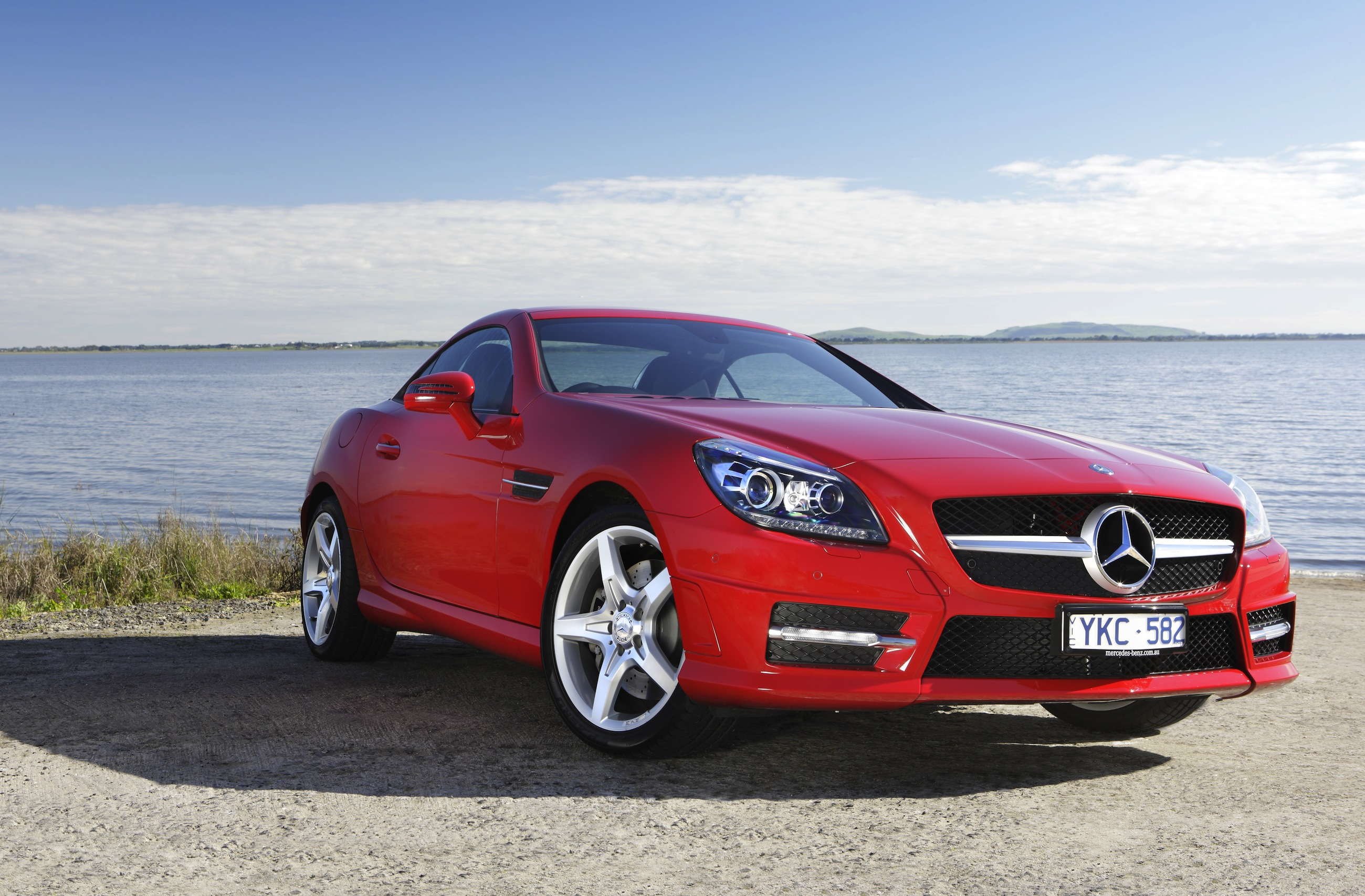 mercedes benz slk350 review photos caradvice. Black Bedroom Furniture Sets. Home Design Ideas