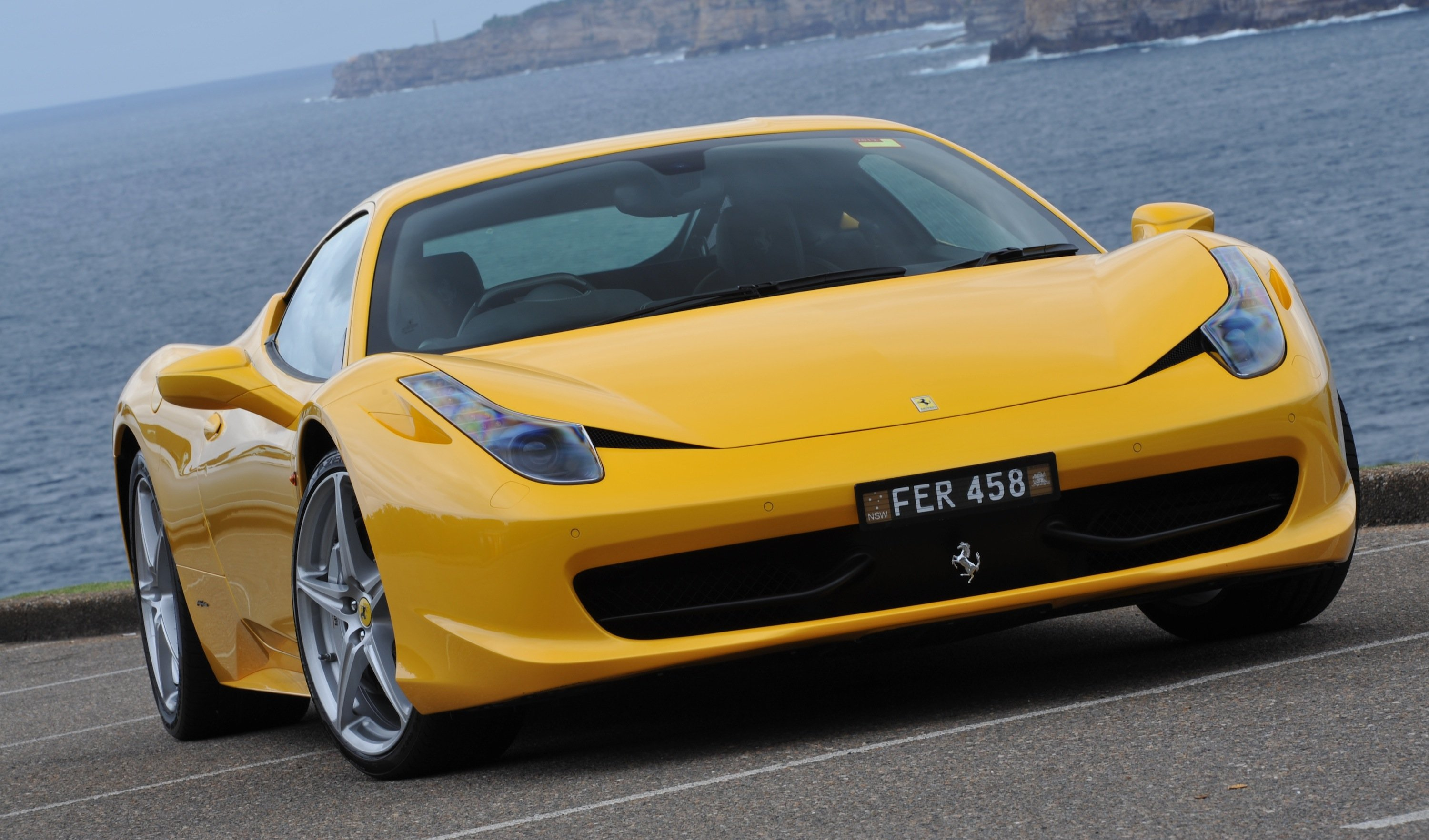 Ferrari 458 And California Recall Negligible For Australia