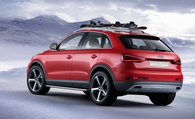 Audi Q3 Finance >> Audi Q3 Red Track concept ready for the slopes - photos ...