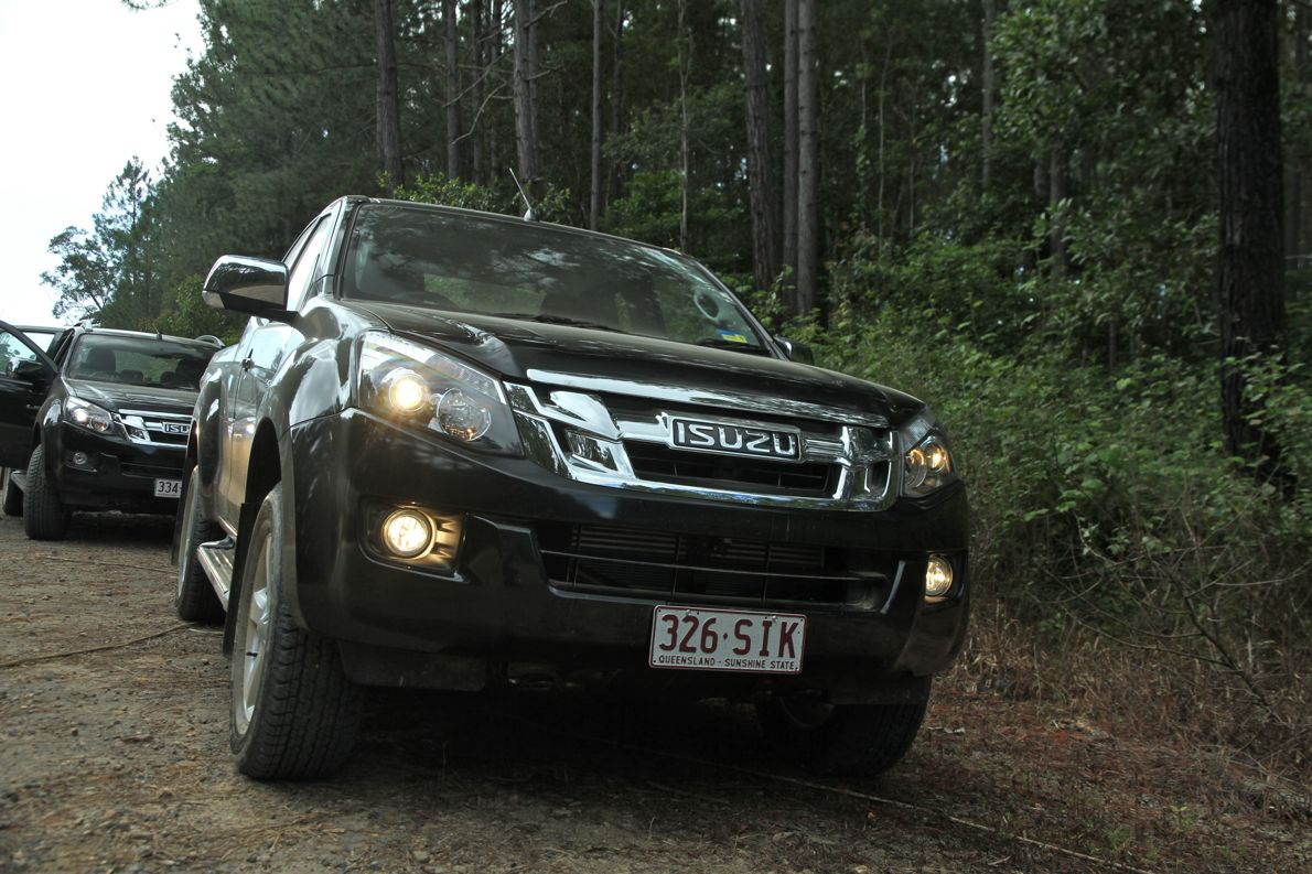 isuzu d max review photos caradvice. Black Bedroom Furniture Sets. Home Design Ideas