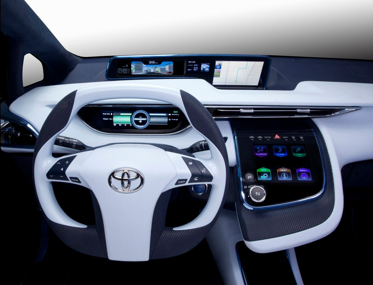 Toyota Hydrogen Fuel Cell Car Coming In 2015 Photos