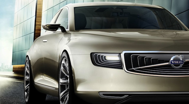 volvo c90  rumours of swedish rival to mercedes-benz e-class coupe