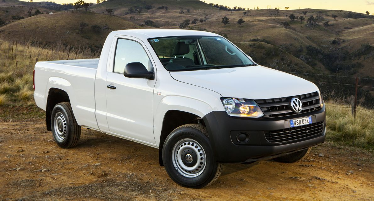 Volkswagen Amarok 8 Speed Auto And Single Cab Join Ute